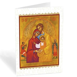 Holy Family Icon (box of 20)