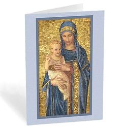 Madonna & Child Mosaic (box of 20)