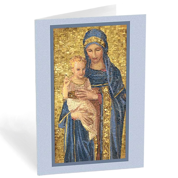 Madonna & Child Mosaic (box of 20)