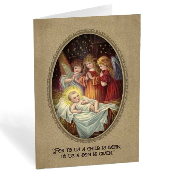 Infant Jesus & Adoring Angels (6-pack)