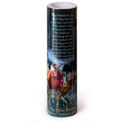 The Three Wisemen LED Prayer Candle