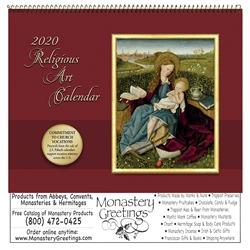 2020 Religious Art Wall Calendar