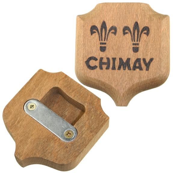 Chimay Wooden Bottle Opener