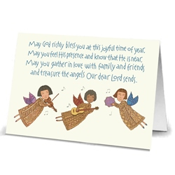 Three Musical Angels (box of 20)