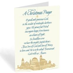 A Christmas Prayer from Bethlehem (box of 18)