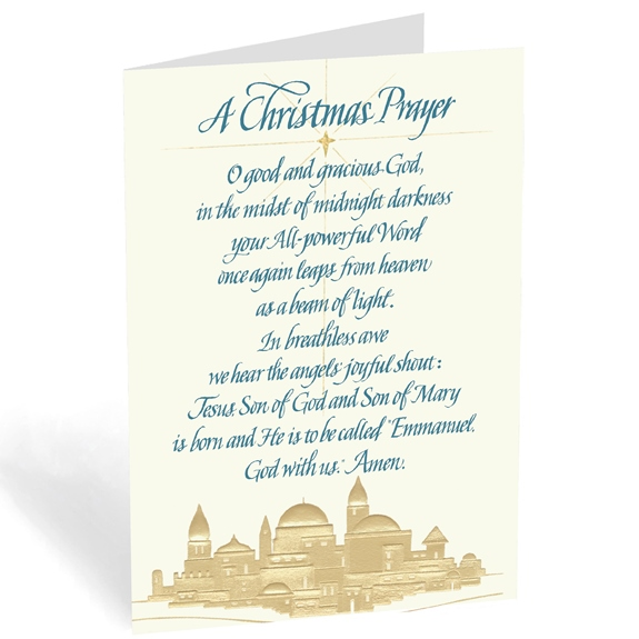A Christmas Prayer from Bethlehem (box of 18)