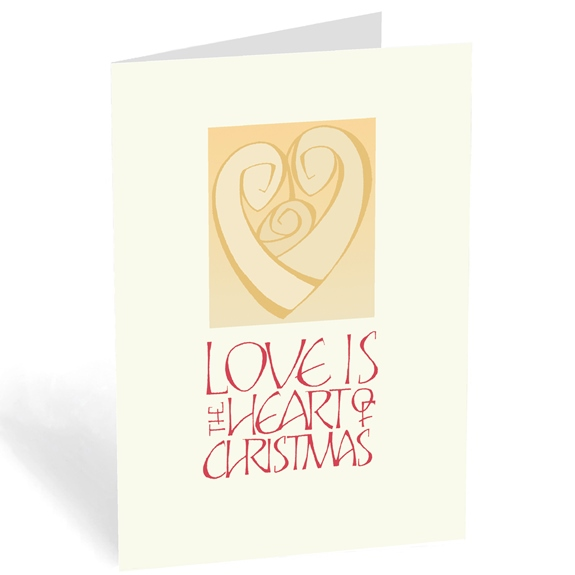 Love is the Heart of Christmas (box of 18)