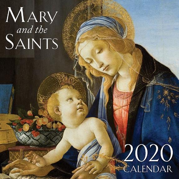 2020 Mary & the Saints Wall Calendar