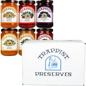 Trappist Preserves Bestsellers 6-Jar Gift