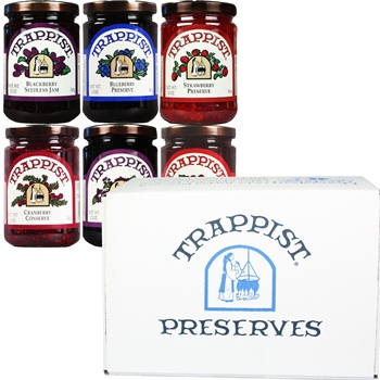 Trappist Preserves All-Berry 6-Jar Gift