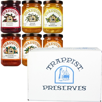 Trappist Preserves Marmalades & Conserves 6-Jar Gift