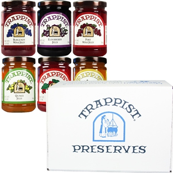 Trappist Preserves All Jellies 6-Jar Gift