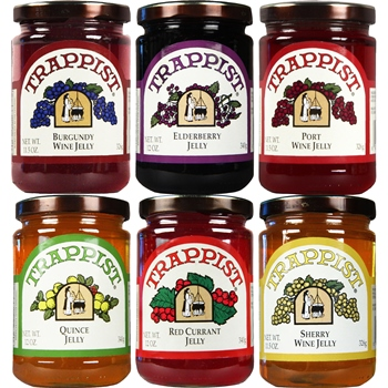 Trappist Preserves All Jellies 6-Jar Sampler