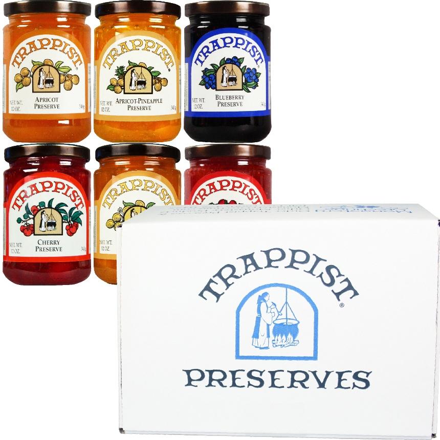 Trappist Preserves All Preserves 6-Jar Gift