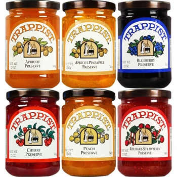 Trappist Preserves All Preserves 6-Jar Sampler