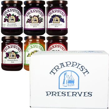 Trappist Preserves Jams & Jellies 6-Jar Gift