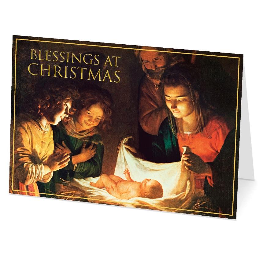Blessings at Christmas (box of 18)