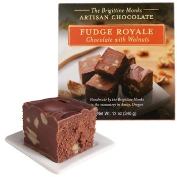 Chocolate Fudge Royale with Walnuts