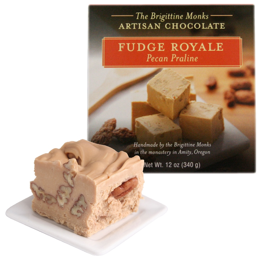 Pecan Praline Fudge Royale