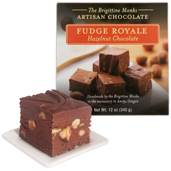 Hazelnut Chocolate Fudge Royale