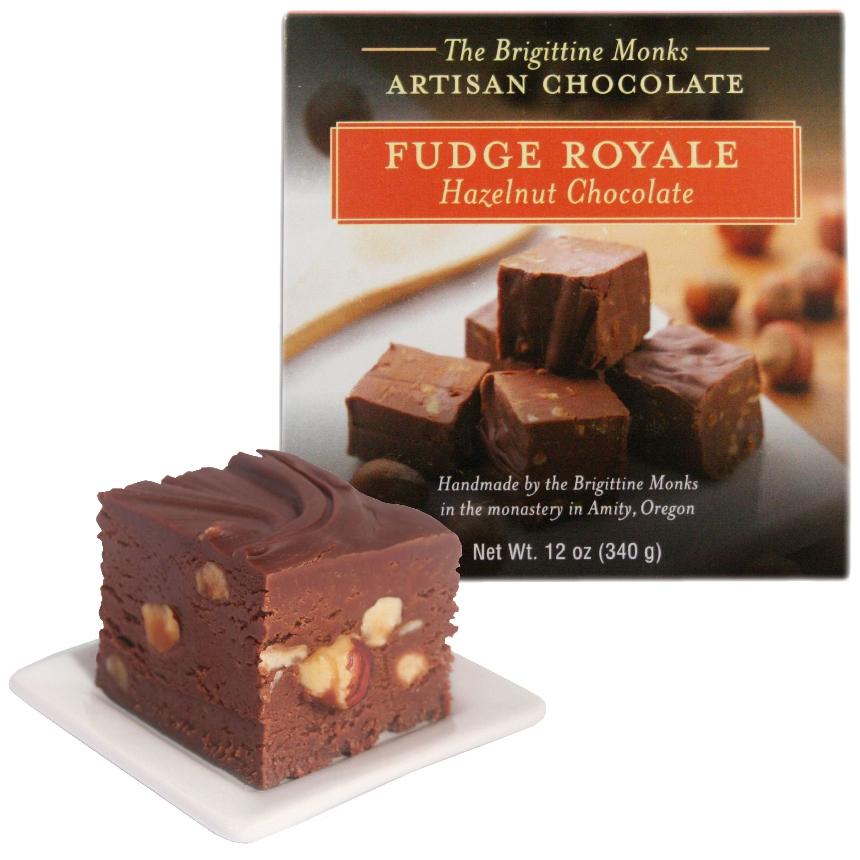 Hazelnut Chocolate Fudge Royale