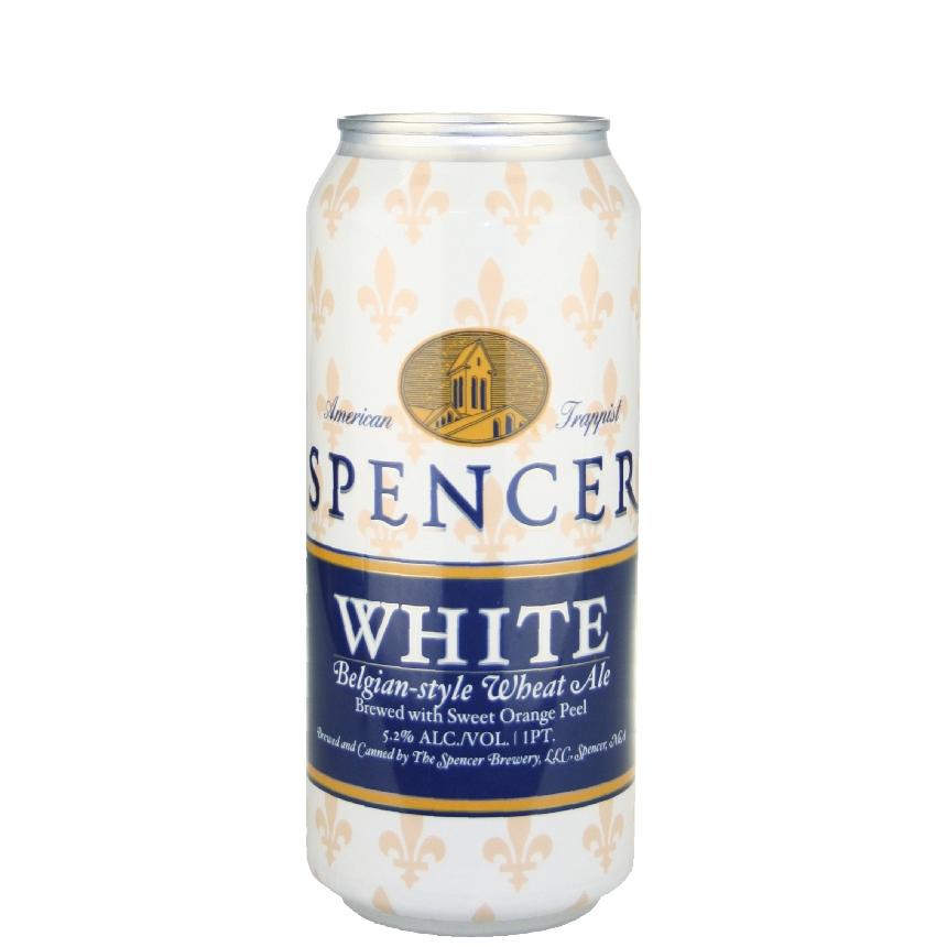 Spencer White 16 oz can