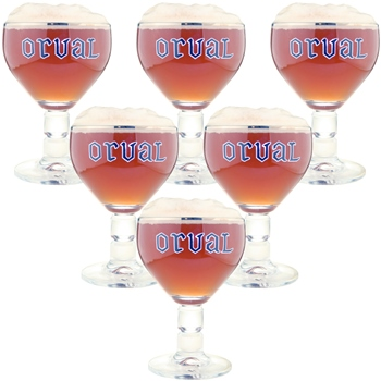 Orval Glass 17 cl (set of 6)