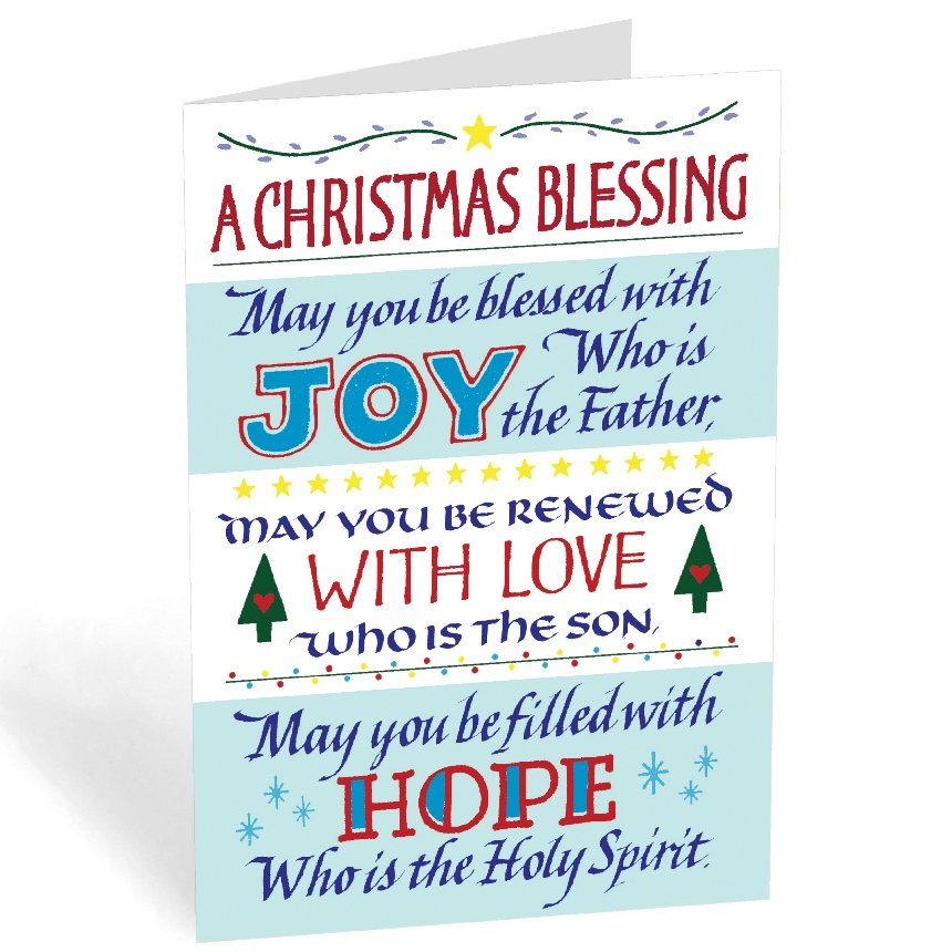 A Christmas Blessing (box of 20)