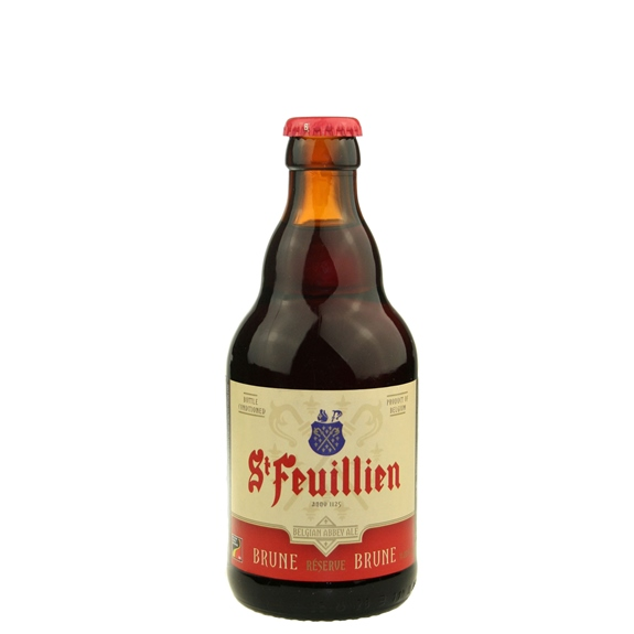 St. Feuillien Brune 11.2 oz