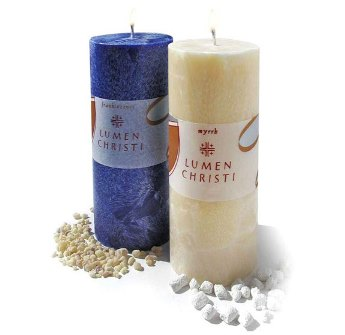 Frankincense & Myrrh Pillar Candles