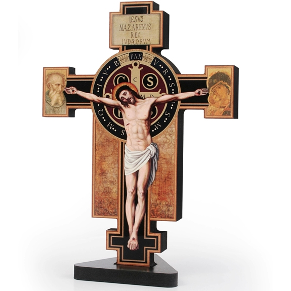 St. Benedict Standing Crucifix