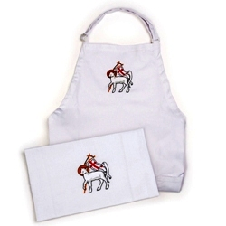 Lamb of God Apron & Table Runner
