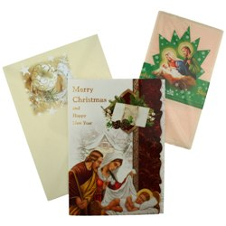 Oplatki (Christmas Wafers & Card)