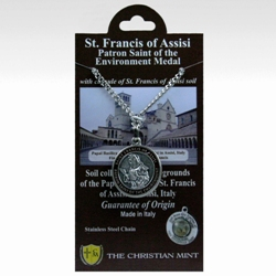 St. Francis Medal with Assisi Soil