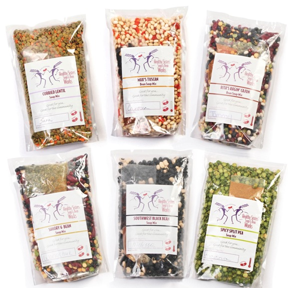 Healthy Sisters' Soup Mixes