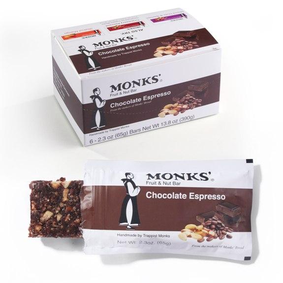 Monks' Chocolate Espresso Bars