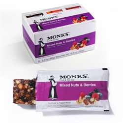 Monks' Mixed Nuts & Berries Bars