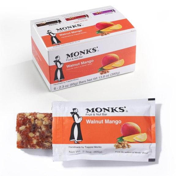 Monks' Walnut Mango Bars