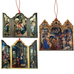 Triptych Ornaments