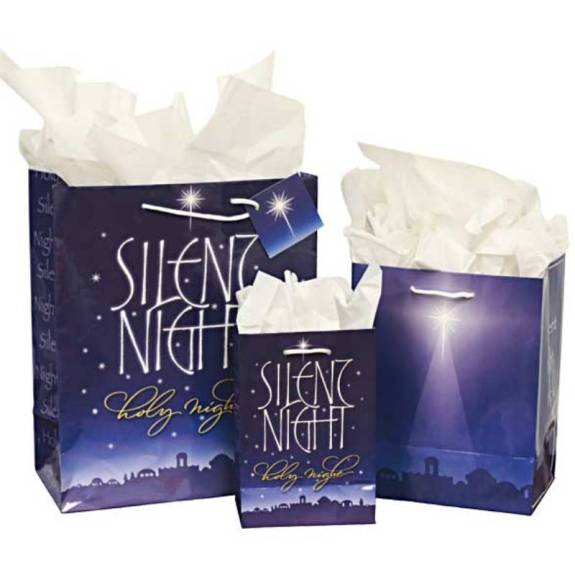 Silent Night Gift Bags