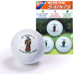 Saints Golf Balls