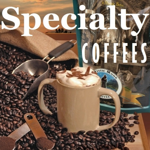 Mystic Monk Specialty Coffees (ground)