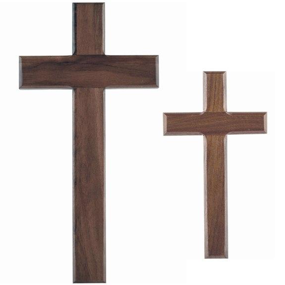 Simple Walnut Cross