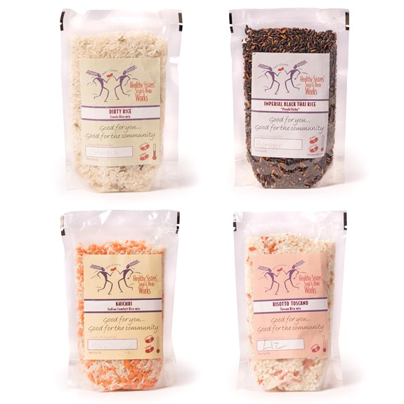 Healthy Sisters' Rice Mixes