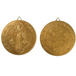 St. Benedict Wall Plaque Set