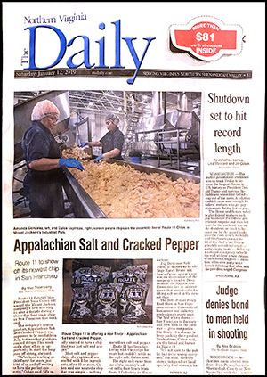 a thumbnail image of The Northern Virginia Daily front page