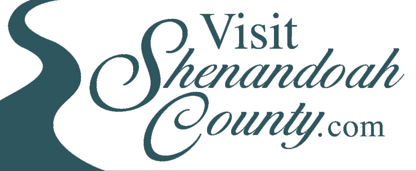 the logo for Visit Shenandoah County