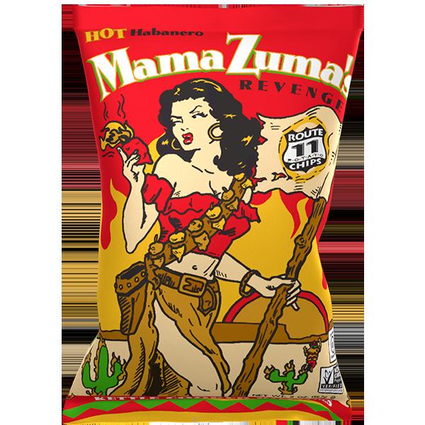 Route 11 Mama Zuma's Revenge Potato Chips