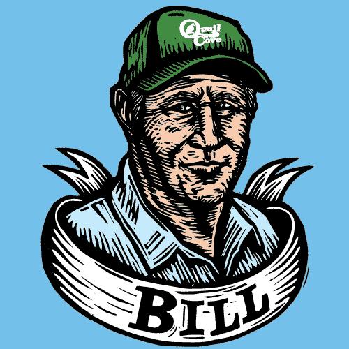 drawing of farmer Bill