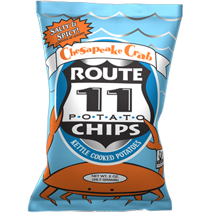 Chesapeake Crab Chips Case